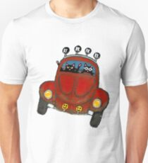 Baja Bug Cats Unisex T-Shirt