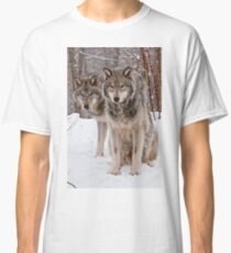 Timber Wolf Pair Classic T-Shirt