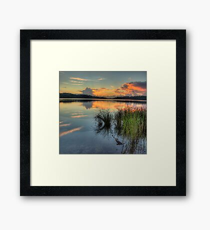 Morning - Narrabeen Lakes, Sydney - The HDR Experience Framed Print