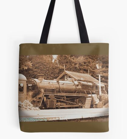 Steam past and present  Tote Bag