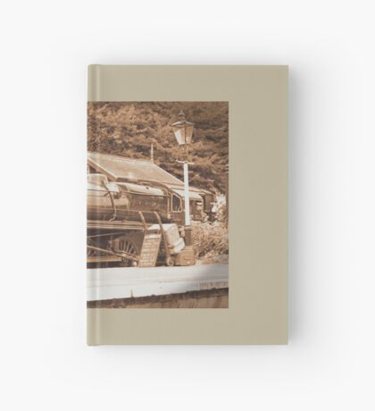 Steam past and present  Hardcover Journal