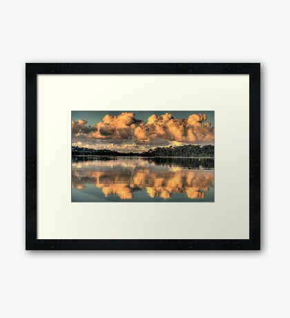 Blessings - Narrabeen Lakes - The HDR Experience Framed Print
