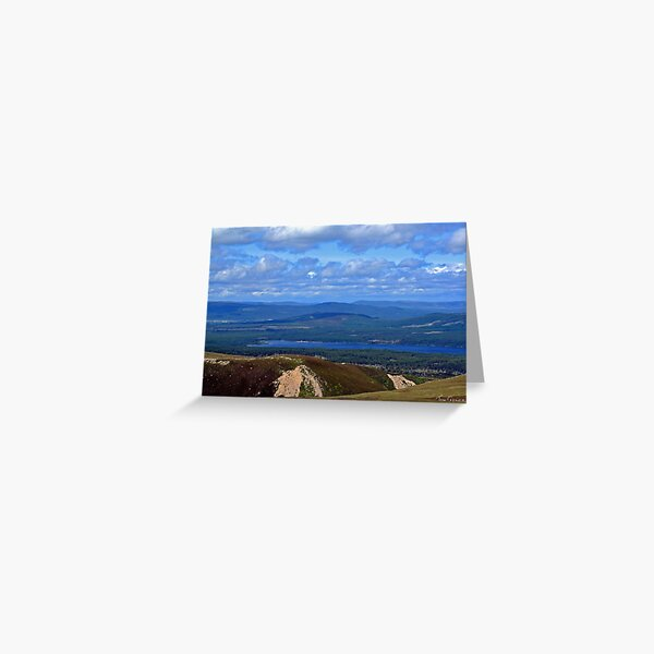 Cairngorm view II Greeting Card