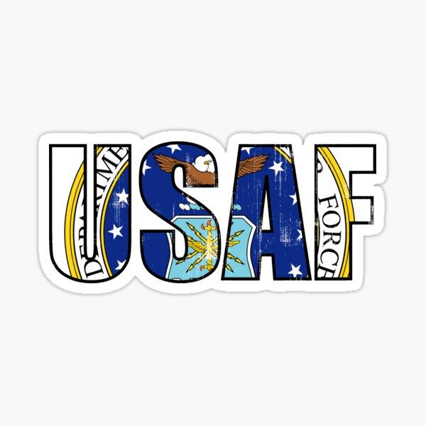 Air Force Abr Code Sticker