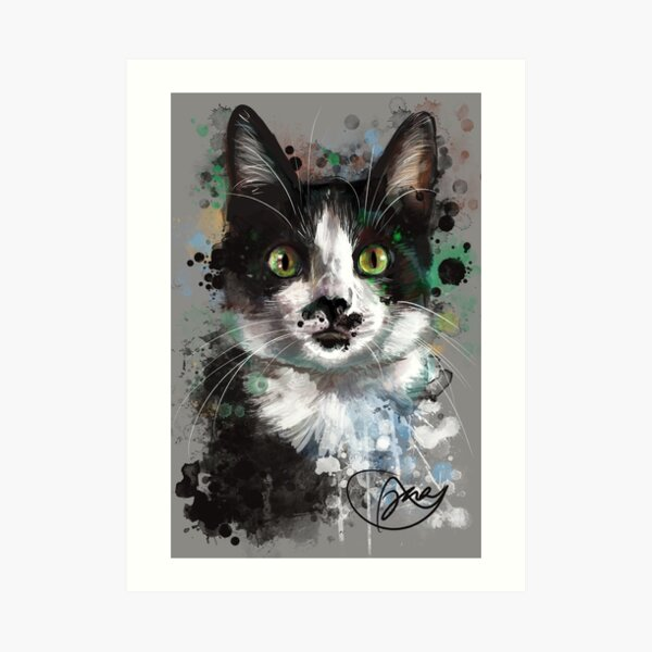 Project Caturday - Sir Wally Wigglesworth Art Print