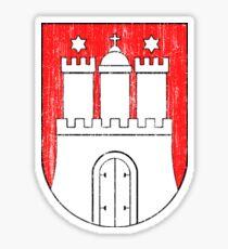 Wappen von Hamburg Sticker