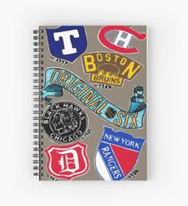 Original Six Spiral Notebook