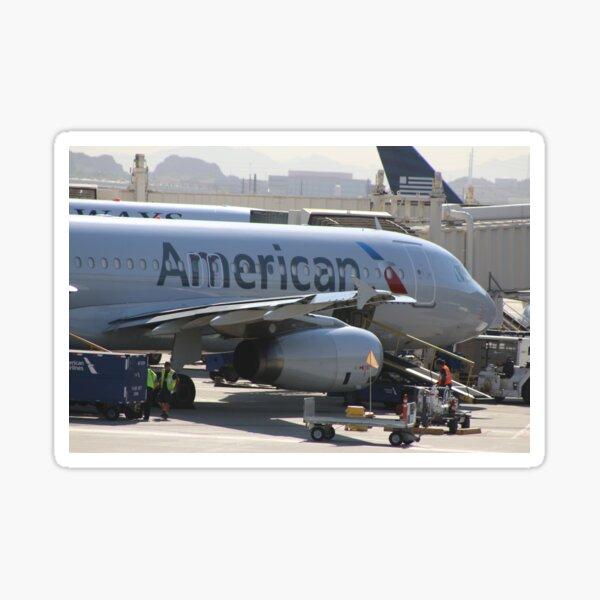 American Airline Sticker