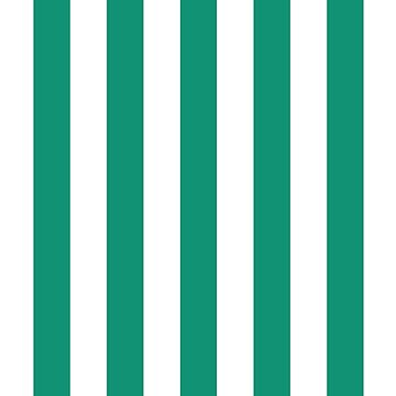 vertical stripes, green,white,modern,trendy,contempoary pattern by love999