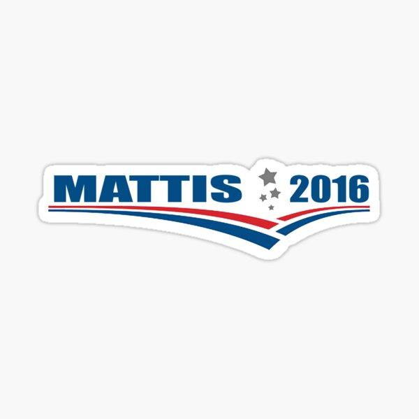 Mattis 2016 Sticker