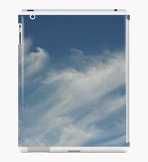 Moving cloud shapes iPad Case/Skin