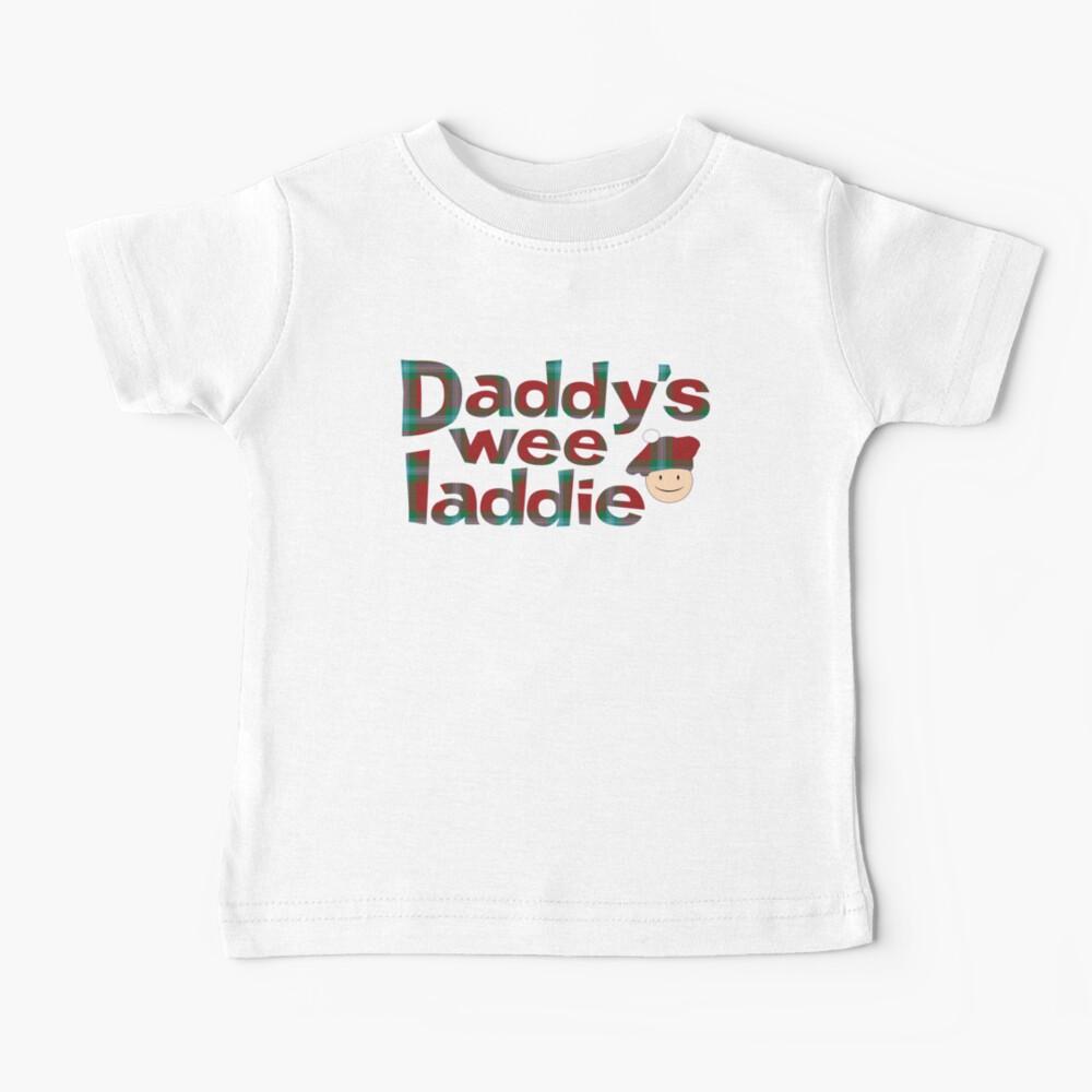 Daddy's Wee Laddie Baby T-Shirt