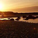 Midsummer sunset by Ian Lyall