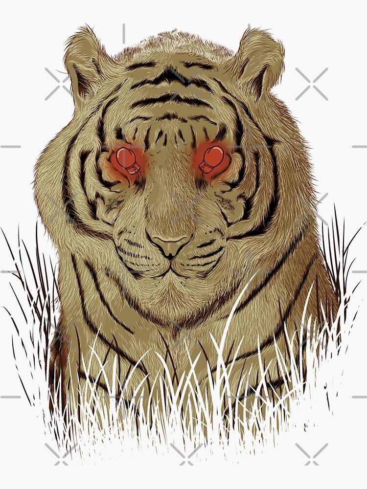 Eye of the Tiger by GODZILLARGE