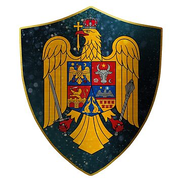 Romania Coat of Arms by ockshirts