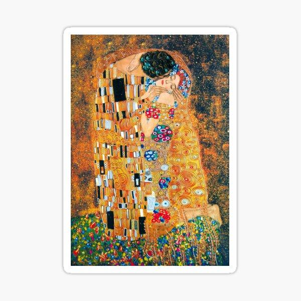 Gustav Klimt - Le baiser Sticker