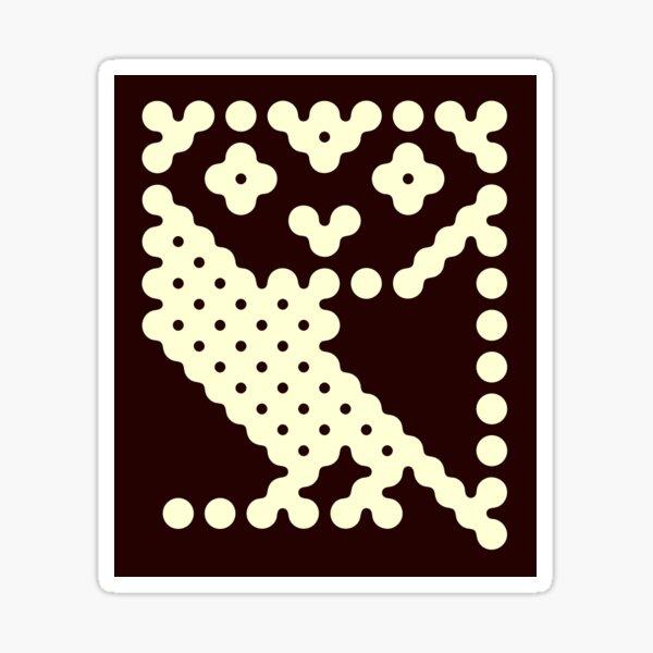 BBC Microcomputer owl logo Sticker