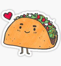 Taco Sticker