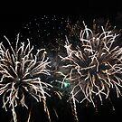 Fireworks over Cascais Bay 3895 by João Castro