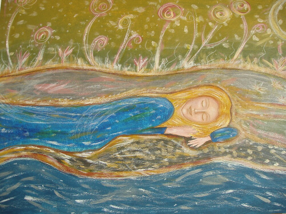 Sleeping in mother natures arms by Lilaviolet