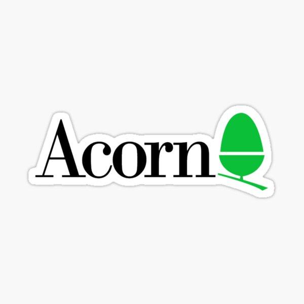 Acorn computers logo Sticker