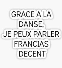 Francais Danse (French Dance) Sticker