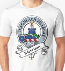 00047 Morrison Clan Tartan Unisex T-Shirt