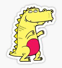 Dino Style2 Sticker