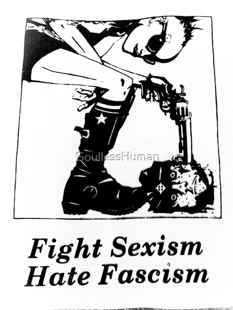Fight Sexism, Hate Fascism by SoullessHuman