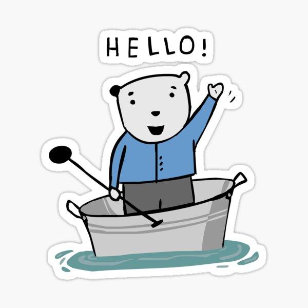 HELLO BEAR Sticker