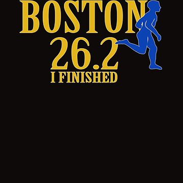 2019 Boston Marathon Gift 26.2 Finisher  by galleryOne