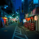 Small Streets of Koenji by Guillaume Marcotte