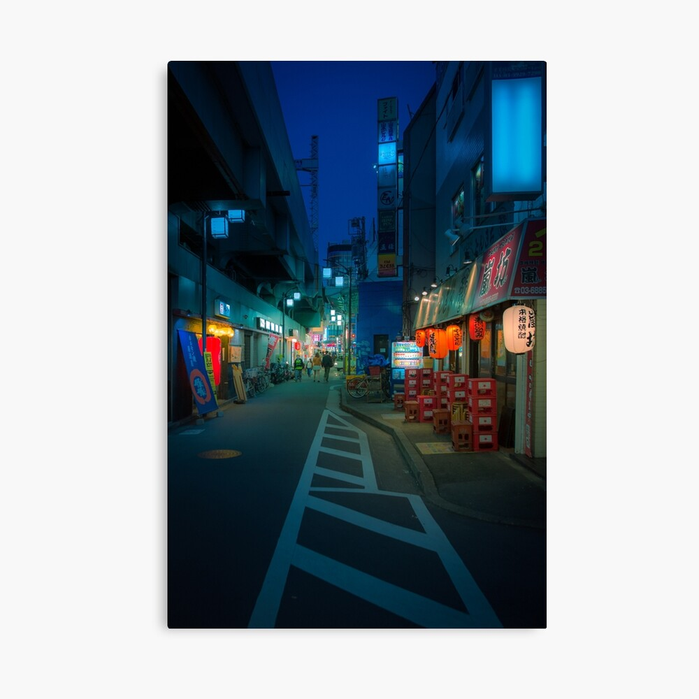 Small Streets of Koenji Canvas Print