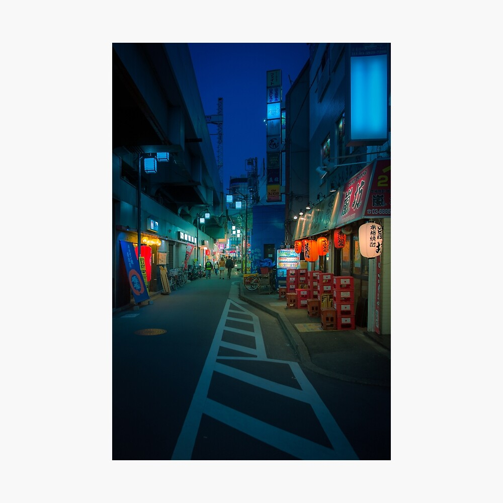 Small Streets of Koenji Photographic Print
