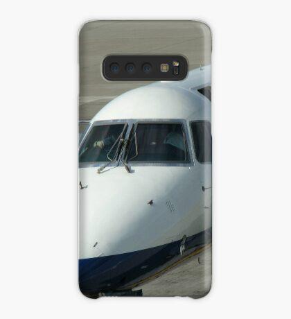 Glückliche Landungen - Flughafen Edinburgh Hülle & Klebefolie für Samsung Galaxy