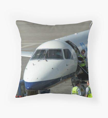 Glückliche Landungen - Flughafen Edinburgh Kissen