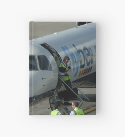 Glückliche Landungen - Flughafen Edinburgh Notizbuch