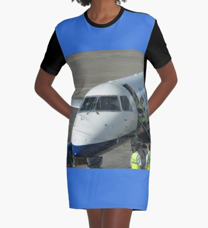 Glückliche Landungen - Flughafen Edinburgh T-Shirt Kleid