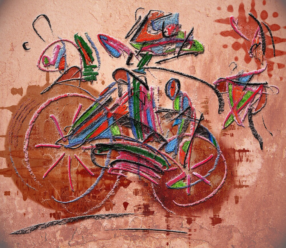 Riding alone by Luciano Colossi