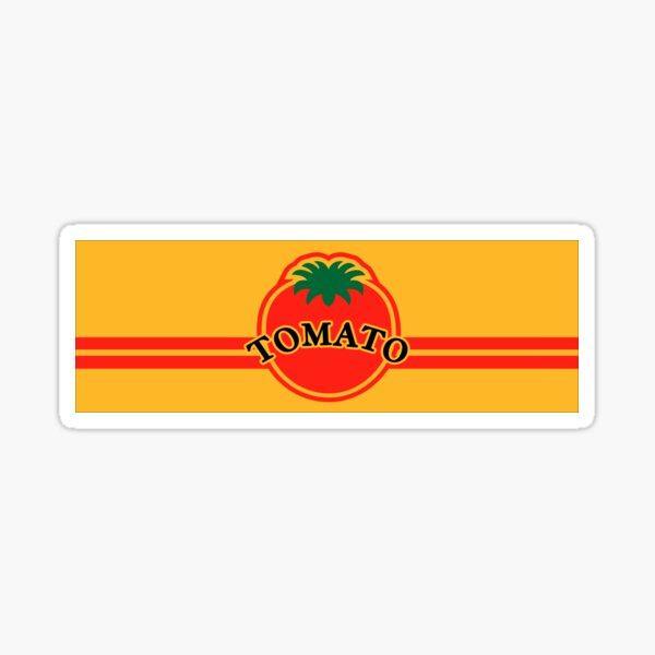 Tomato Convenience Store Logo (Yellow Background) Sticker