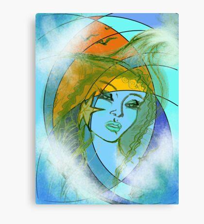 Summer Fantasy Canvas Print