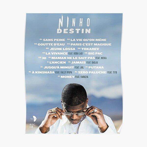 NINHO DESTIN TRACKLIST Poster