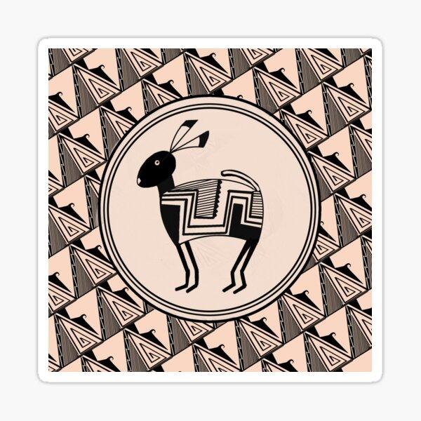 Mimbres Pattern  Sticker
