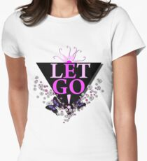 Let Go EGO Women's Fitted T-Shirt