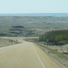 Coming Into The Badlands by Drumheller Alberta by MaeBelle