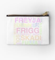 The Goddesses of Norse Mythology Studio Pouch
