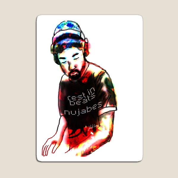 Rest in Beats Nujabes Magnet