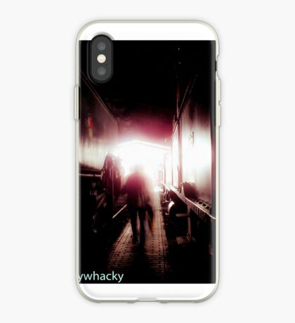 Train shed Ghost iPhone Case