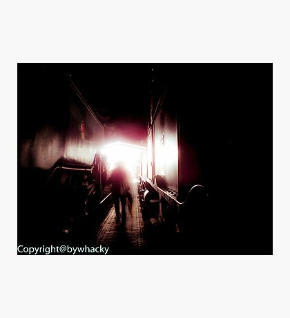 Train shed Ghost Photographic Print