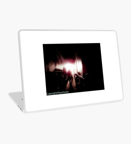 Train shed Ghost Laptop Skin